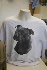 Staffordshire Bull  Terrier Dog - Mike Sibley - Gildan T Shirt - Various Colours