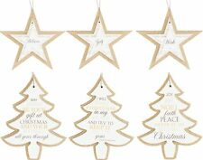 Festive Christmas Star and Tree Decorations Home Living by Juliana, SALE