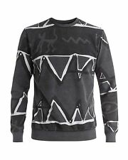 NEW QUIKSILVER™  Mens Ghetto Fleece Jumper Sweatshirt