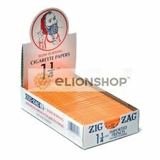 Cigarette Rolling Papers ( Zig Zag Orange 1.25 1 1/4 ) Made In France Z