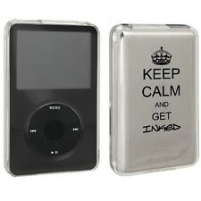 For Apple iPod Classic Hard Case Cover 80gb 120gb 160gb Keep Calm and Get Inked