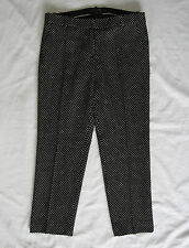J.Crew New With Tag Cafe Capri In Tiny Dots Pants Color:Black/White Dors Re:$148