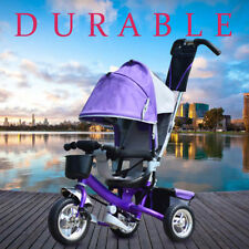 4in-1 Bike Stroller Tricycle Toddler Push Kids Ride On TRICYCLE  WITH SUN CANOPY