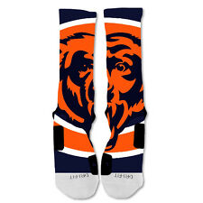 Nike Elite socks custom Chicago Bears