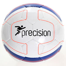 Precision Training Rosario Football FIFA Approved Match Ball White/Blue rrp£36