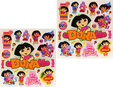 New 3D Scrapbooking Disney Characters Stickers Dora the Explorer 38 Stickers