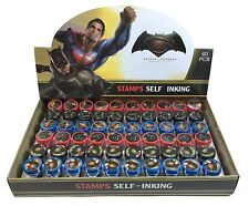 NEW Batman vs. Superman Self Ink Stamps Birthday Party Favors Filler Supplies~