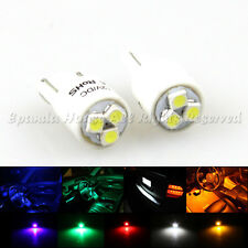2 X 194 168 921 2521 LED BULBS REPLACEMENT DIY 1210 SMD CHIPS LONG LAST 5 COLORS