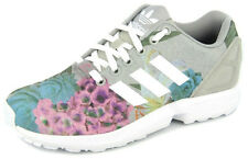 New Women's Adidas Originals Womens Zx Flux Grey/white Footwear Sneakers Shoe...