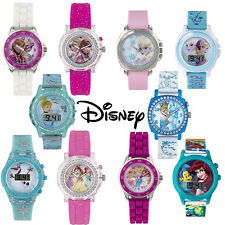 Official Licensed Disney Kids Princess Character Watches 10 Choices