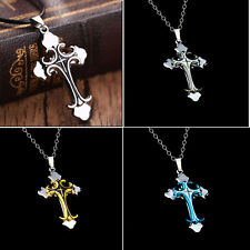 Stainless Steel NEW Cross 2016 Pendant Necklace Gift Jewelry Men Women's Chain