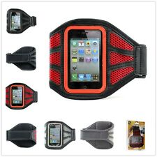 Running Gym Sports Jogging Armband Mesh Case Cover For Apple iPhone 4 4S 3G 3GS