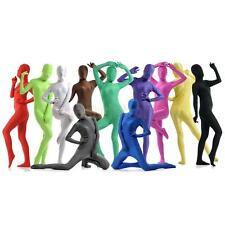 High Quality Full Body Second Skin Lycra Zentai Costume Suit Fancy Dress Party
