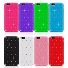 Rhinestone  Bling Stars Soft Silicone Skin Rubber Case Cover For Apple iPhone
