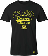 """AMAZING LOOK"" T-Shirt to Match Foamposite ""OPTIC YELLOW"" Wu-tang"