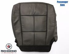 07-14 Lincoln Navigator-Passenger Bottom NON-Perforated Leather Seat Cover Black