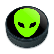 Ice Hockey Puck Space and Aliens