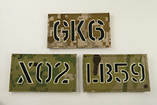Custom Call sign Infrared & Glow in the dark -AOR1,AOR2,Multicam,Tropic,Kryptek