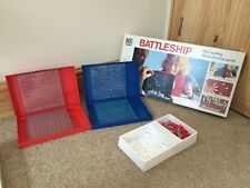 Vintage Retro Battleship Board Game By MB 1975 Long Box version Rare! Complete