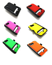 Dual Case Belt Clip Holster and Screen Protector for Verizon HTC ThunderBolt 4G