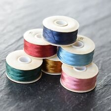 NYMO BEADING THREAD *SIZE D (0.3mm) 64 YARDS *MANY COLOURS * JEWELLERY MAKING