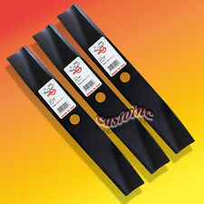 "Set of 3 Blades For Toro/Wheelhorse 42"" Cut Side Discharge Mower USA"