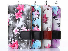 Broken pattern PU Leather Wallet Stand Case Cover FOR Sony Nokia LG Mobile phone