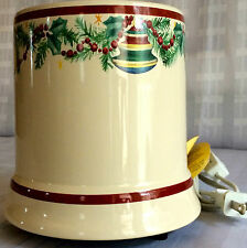 CRAZY MOUNTAIN Ceramic Holiday Candle Warmer (Electric) - NWT