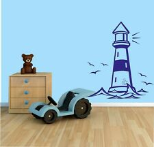 Lighthouse  Wall Stickers Wall Art Decal Transfers