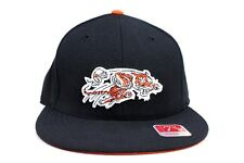 Cincinnati Bengals Black Black Orange Under NFL Mitchell & Ness Fitted Hat Cap
