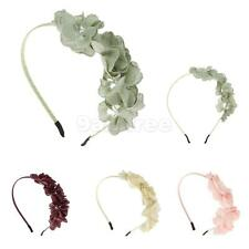 Cute Girls Flower Headbands Hair Bow Headwear Hairband Accessory Gifts-4 Colors