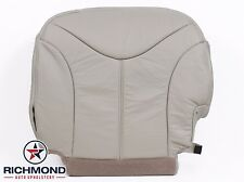 2000 GMC Yukon XL 1500 SLT-Driver Side Bottom Replacement LEATHER Seat Cover TAN