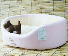 New Cute Pet Dog Cat Puppy Cozy Warm Soft Bed Fleece Plush Mat Pad With Toy (US)