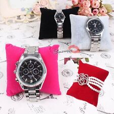Lots Velvet Watch Jewelry Display Pillow Holder Stand Cusion
