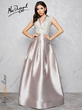 Mac Duggal 80634D Long Evening Dress ~LOWEST PRICE GUARANTEE~ NEW Authentic Gown