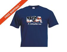 USA Cycling TShirt, USA Cycling at the 2016 Summer Games in Rio Navy T-Shirt