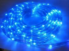 240V Round LED Rope Strip Light Duralight 6 Meters Kit With Controller Outdoor