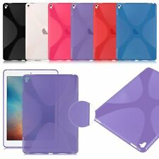 """Gel Rubber Soft TPU Silicone Case X-line Cover Back Skin for Apple iPad Pro 9.7"""""""