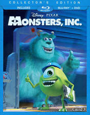 Monsters, Inc. (Blu-ray/DVD, 2013, 3-Disc Set) Usually ships within 12 hours!!!