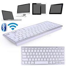 Slim Bluetooth Wireless Keyboard 3.0 for iPad iPhone Mac/PC/Tablet Smart Phone