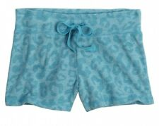 NWT Justice Girls Turquoise Leopard Cheetah Knit Athletic Shorts U Pick Size NEW