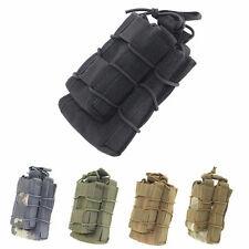 Tactical Open Top Double Decker Single Rifle Magazine Pouch Cartridge Clip Bag
