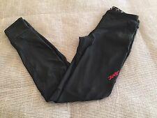 LADIES ZOOT COMPRESSION PANTS BLACK LINED SIZE SMALL TIGHTS RUNNING CYCLING