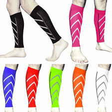 Pair Calf Support Compression Leg Sleeve Sports Running Socks Outdoor Exercise