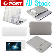 """4in1 Laptop hard case sleeve bag keyboard cover for MacBook Air/Pro 11"""" 13"""" 15"""""""