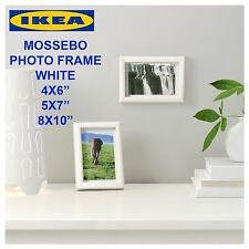 """IKEA MOSSEBO Photo Picture Frame 4x6"""" 5x7"""" 8x10"""" White Table Wall"""