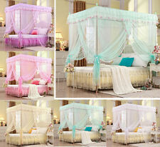 Lace Bedding Canopy Mosquito Netting Or Frame(Post) Twin Full Queen King Sizes
