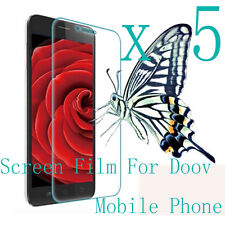 5 Clear Glossy Matte LCD Screen Protector Film Skin Foil Guard For Doov Phone