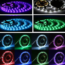 5M RGB 3528/5050/5630 SMD Flexible LED Strip Light Lamp DC 12V/Remote Waterproof