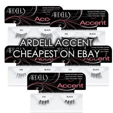 Ardell 100% Human Hair Accent Lashes 301, 305, 308, 315, 318 Corner/Half